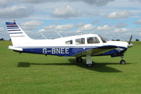G-BNEE @ EGBK - 1978 Piper PIPER PA-28R-201, c/n: 28R-7837084 - visitor to 2010 Sywell Airshow