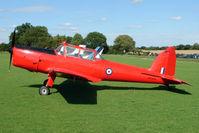 G-BCGC @ EGBK - 1952 De Havilland DHC-1 CHIPMUNK 22, c/n: C1/0776 in stunning red scheme - wears Serials WP903 - a visitor to the 2010 Sywell Airshow