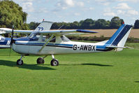 G-AWBX @ EGBK - 1968 Reims Aviation Sa CESSNA F150H, c/n: 0286 - visitor to the 2010 Sywell Airshow