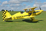 G-BNNA @ EGBK - 1973 Maxwell Tc STARDUSTER TOO SA300, c/n: 1462 - visitor to 2010 Sywell Airshow