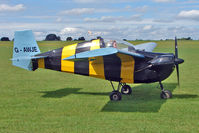 G-AWJE @ EGBK - 1968 Slingsby Aircraft Co Ltd NIPPER T.66 RA45 SERIES 3, c/n: S121 - visitor to 2010 Sywell Airshow