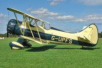 G-UPFS @ EGBK - 1941 Waco Aircraft Company WACO UPF-7, c/n: 5660 - visitor to 2010 Sywell Airshow