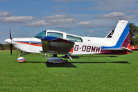 G-OBMW @ EGBK - 1975 Grumman American Aviation Corporation GRUMMAN AA-5, c/n: AA5-0805 - visitor to 2010 Sywell Airshow