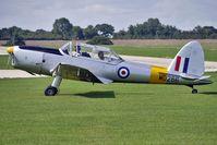 G-BBND @ EGBK - 1950 De Havilland DHC-1 CHIPMUNK 22, c/n: C1/0225 - visitor to 2010 Sywell Airshow
