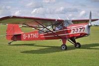 G-ATHU @ EGBK - 1945 Beagle Aircraft Ltd BEAGLE A.61, c/n: AUS/127/FM a visitor to 2010 Sywell Airshow