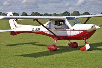 G-JBSP @ EGBK - 2000 James Cr JABIRU SP-470, c/n: PFA 274B-13486 - visitor to 2010 Sywell Air Show