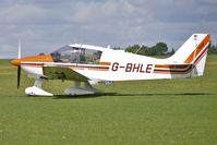 G-BHLE @ EGBK - 1980 Avions Pierre Robin CEA DR400/180, c/n: 1466 - visitor to 2010 Sywell Airshow