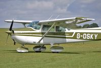 G-OSKY @ EGBK - 1976 Cessna CESSNA 172M, c/n: 172-67389 - visitor to 2010 Sywell Airshow