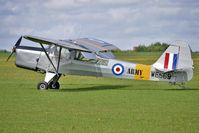 G-ASAJ @ EGBK - 1962 Beagle Aircraft Ltd BEAGLE A.61 SERIES 2, c/n: B.605 wears Serial WE569 - visitor to 2010 Sywell Airshow