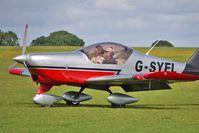 G-SYEL @ EGBK - 2006 Aero Sp Z Oo AERO AT-3 R100, c/n: AT3-019 at Sywell