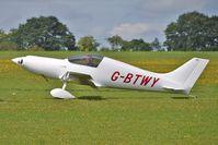 G-BTWY @ EGBK - 1994 Pridal Jj And Pirie Ak PULSAR, c/n: PFA 202-12040 - visitor to 2010 Sywell Airshow