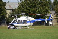 N120HH @ EGBK - 2005 Bell 407, c/n: 53661 - visitor to 2010 Sywell Airshow