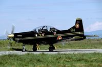 664 @ LBPG - Brand new trainer used as a light attack aircraft during Co-operative Key 2005 - by Joop de Groot