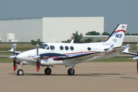 N13 @ AFW - FAA King Air - At Alliance Airport, Fort Worth, TX