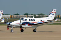 N14 @ AFW - FAA King Air at Alliance Airport, Fort Worth, TX