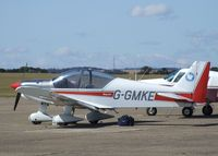 G-GMKE @ EGSU - Robin HR.200/120B at Duxford airfield