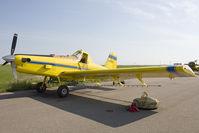 C-FKCZ @ CED5 - Kinniburgh Spray Service AT-401 - by Andy Graf-VAP