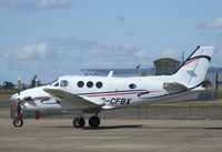 G-CFBX @ EGSU - Beechcraft King Air C90GTI at Duxford airfield