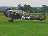G-BOXJ @ EGKH - Taxiing out at Headcorn - by Jeff Sexton