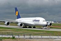D-AIMA @ EDDF - Lufthansa Airbus A380-841 - by Janos Palvoelgyi