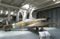 G-HURI - Hawker (CCF) Hurricane Mk XII at the Imperial War Museum, Duxford - by Ingo Warnecke