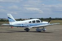 G-BOPA @ EGSU - Piper PA-28-181 Archer II at Duxford airfield