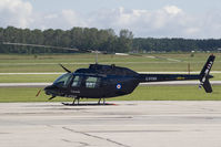 C-FTHV @ CYPG - Allied Wings Bell 206 - by Andy Graf-VAP