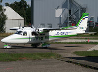 D-GFLY @ EDSB - Arriving from flight and parked near the rescue area... - by Shunn311