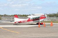 N713GP @ X59 - Cessna 185F