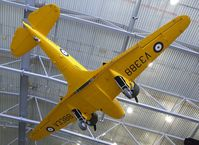 G-AHTW - Airspeed AS.40 Oxford I at the Imperial War Museum, Duxford