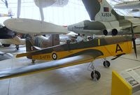 G-AFBS - Miles M14A Hawk Trainer at the Imperial War Museum, Duxford