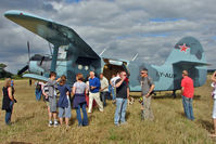 LY-AUP @ X3YF - Antonov 2 proved a popular star attraction at 2010 Abbots Bromley Wings and Wheels