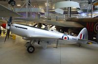 VN485 - Supermarine Spitfire F24 at the Imperial War Museum, Duxford