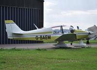 G-BAEM @ EGLM - Robin DR400/120 resident White Waltham - by moxy