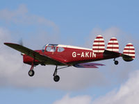 G-AKIN @ EGBK - displaying at the Sywell Airshow - by Chris Hall