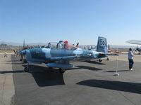 N18255 @ CMA - Beech 45 as T-34A MENTOR, Continental O-470-13 225 Hp - by Doug Robertson