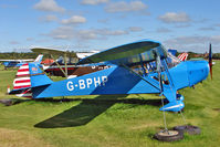 G-BPHP @ EGBD - 1941 Taylorcraft Aviation Corporation TAYLORCRAFT BC12-65, c/n: 2799 at Derby Eggington