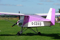 G-CDXD @ EGBM - 2006 Medway Microlights SLA 100 EXECUTIVE, c/n: 070306 at Tatenhill