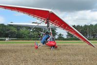 G-LVPL - 2004 Airborne Windsports Pty Ltd EDGE XT912-B/STREAK III-B, c/n: XT912-035 at Abbots Bromley Fly-In
