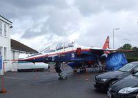 XW566 - SEPECAT Jaguar B at the Farnborough Air Science Trust