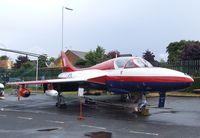 WV383 - Hawker Hunter T7 at the Farnborough Air Science Trust