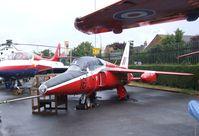 XP516 - Folland Gnat T1 at the Farnborough Air Science Trust
