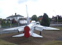XS420 - English Electric (BAC) Lightning T5 at the Farnborough Air Sciences Trust