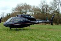 G-BSYI @ EGBC - Aerospatiale AS.355F1 Ecureuil II [5197] Cheltenham Racecourse~G 14/03/2008