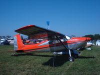 C-FDAR @ KOSH - Cessna 180D - by Mark Pasqualino