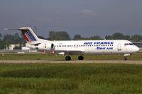 F-GPXD @ LFST - departure from Strasbourg