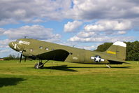 N7772 @ WS17 - C-49K 43-76716 at the EAA Museum - by Glenn E. Chatfield