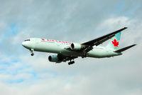 C-GGFJ @ YVR - Landing at YVR - by metricbolt