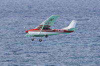 C-FJRS @ TNCM - Cessna 182E, c/n: 18253846 - by Trevor Toone