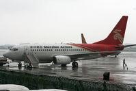 B-2667 @ ZGSZ - Shenzhen Airlines - by Dawei Sun